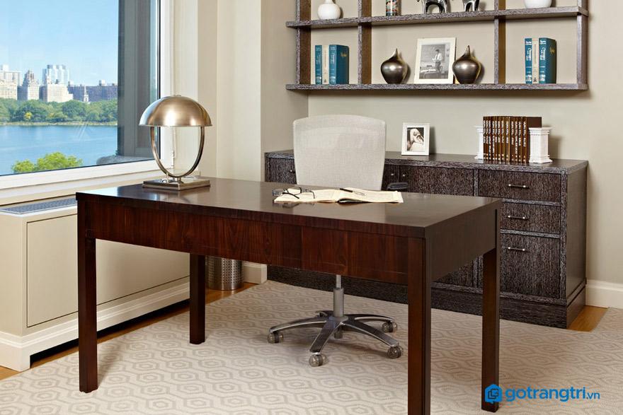 Cách đặt bàn làm việc theo phong thuỷ cho sức khoẻ tốt