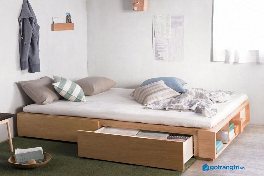 Có nên mua giường ngủ ngăn dưới gầm?
