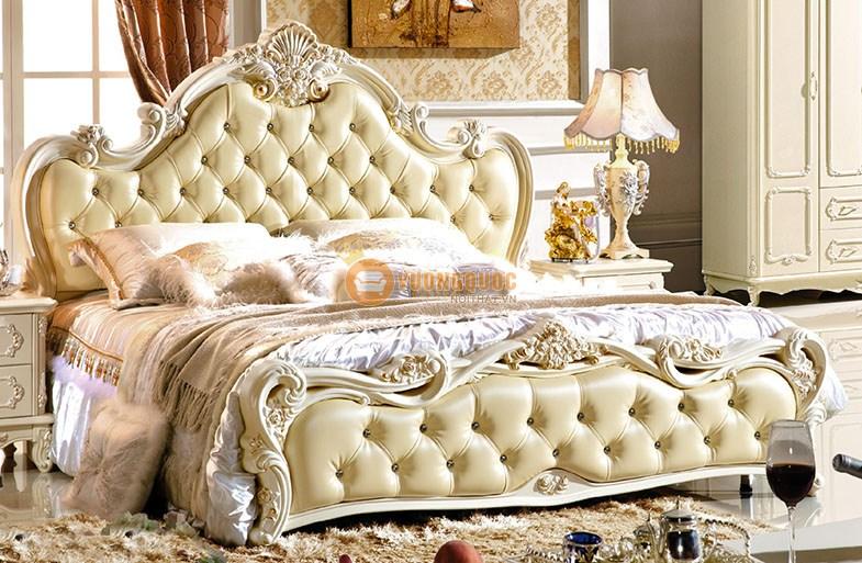 Bộ giường ngủ nhập khẩu CBLPC001G