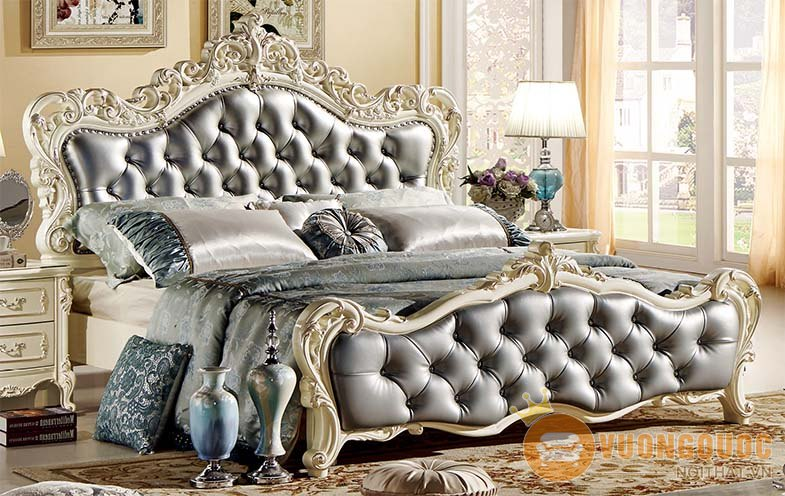 Giường ngủ hoàng gia HVM8803G