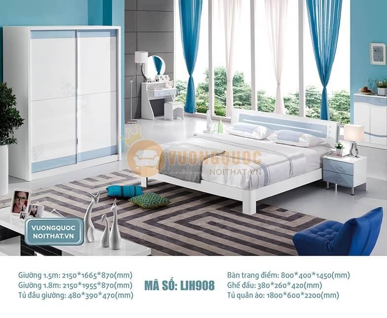 Kích thước, mẫu mã tab đầu giường hiện đại cho phòng ngủ hẹp