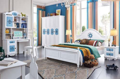 Thiết kế nội thất bé trai theo phong cách Địa Trung Hải