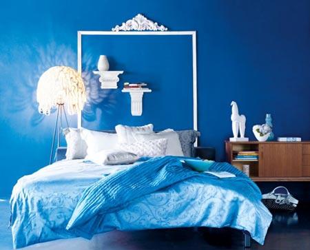 Sự quan trọng của việc trang trí phòng ngủ màu xanh dương cho bé gái