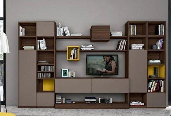 Kệ tivi phòng khách thiết kế đa năng