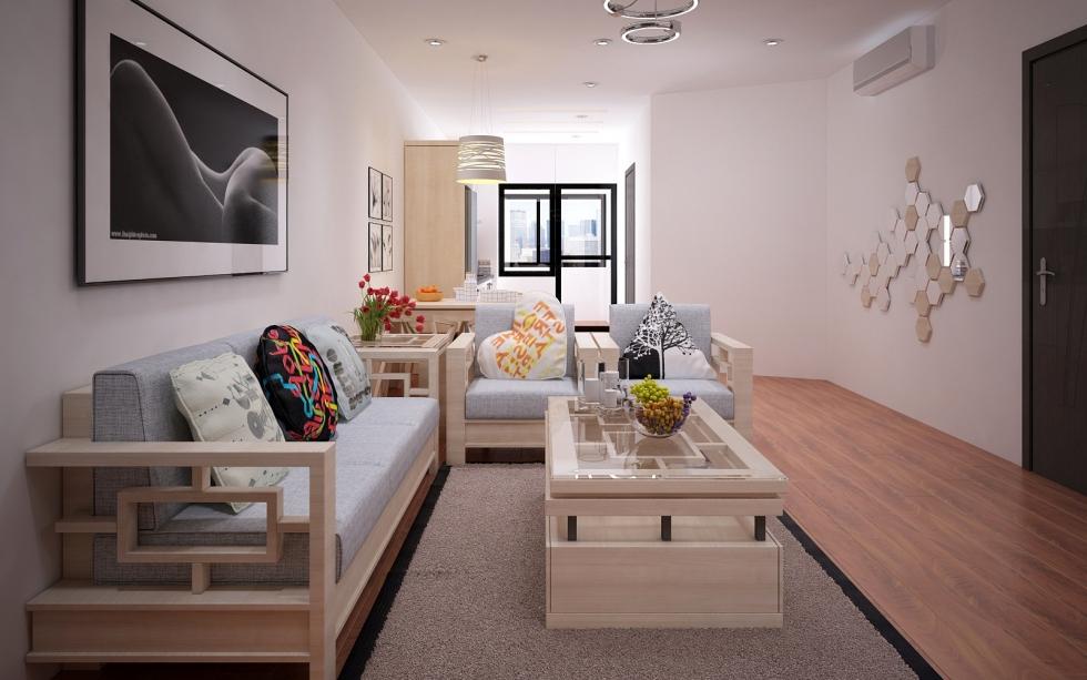 Nhược điểm của sofa gỗ phòng khách hiện đại