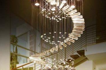 Top những mẫu đèn thả thông tầng đẹp dẫn đầu 2019