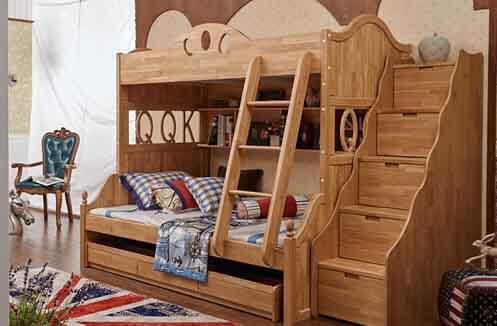 Kinh nghiệm mua giường ngủ cho bé nên chú ý đến thiết kế