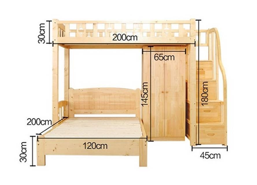 Kinh nghiệm mua giường ngủ cho bé nên quan sát kích thước
