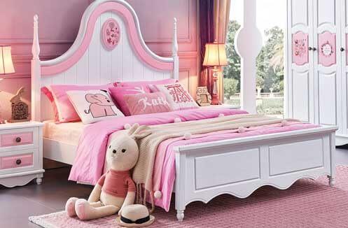 Kinh nghiệm mua giường ngủ cho bé nên quan tâm đến mẫu sơn, mùi sơn