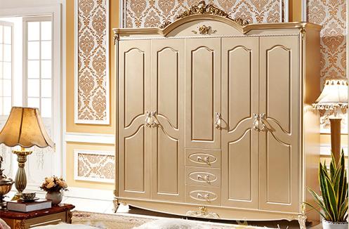Tủ quần áo tân cổ điển phong cách Pháp