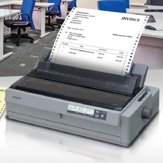Máy in bill công nghệ kim bền màu dùng để in ấn các chứng từ quan trọng