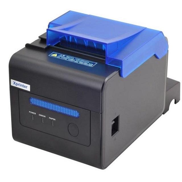 Máy in bill Xprinter XP-C300H sử dụng cho các cửa hàng ăn uống dùng để in bill gọi món