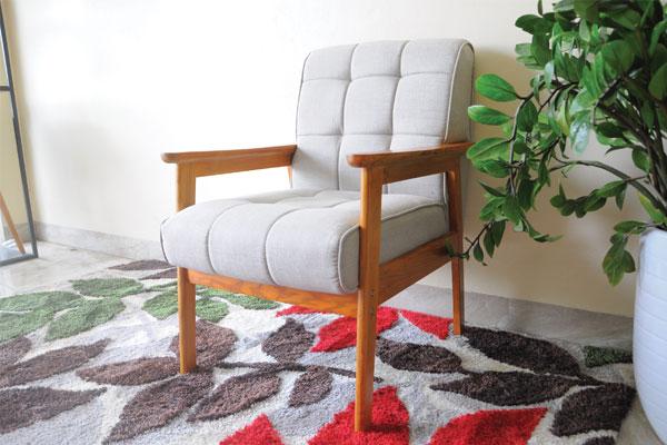 Kích thước sofa gỗ đơn